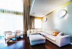 Big modern living room Stock Photography