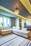 A big Modern living room Royalty Free Stock Images