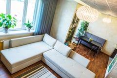 A big Modern living room Royalty Free Stock Image