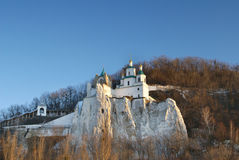 Big monastery (Lavra) in Ukraine Stock Image