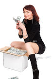 The big money Royalty Free Stock Image