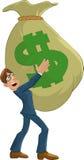 Big money bag Stock Image