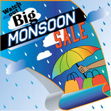 The Big Monsoon sale Royalty Free Stock Photography