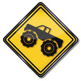 Big monster truck Royalty Free Stock Photo