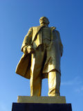 Big monument to Lenin Royalty Free Stock Photos