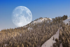 Big Moon Royalty Free Stock Photos
