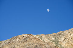 Big moon over Himalayas Royalty Free Stock Images