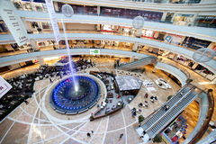 Big Moscow shopping mall Stock Photos