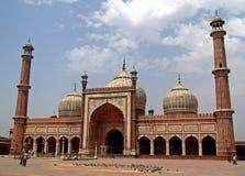 The big Mosque Delhi Royalty Free Stock Photos