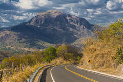 Big mountain in El Salvador Stock Image