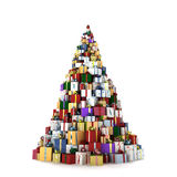 Big mountain of gifts Stock Photos