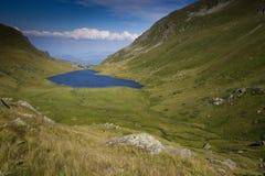 Big Mountain lake landscape Royalty Free Stock Photos