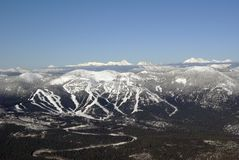 Big Mountain Resort Stock Photos