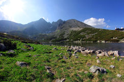 Big mountain in Slovakia Royalty Free Stock Images