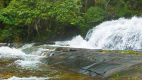 Big mountain waterfall. Surroundings of Chiang Mai, Thailand. Video 1920x1080 - Big mountain waterfall. Surroundings of Chiang Mai, Thailand stock video footage