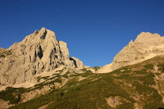 Big mountains, hills, outdoor, nature. Nature landscape mountain , outdoor, Alpes Stock Images