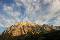 Big mountains, hills, outdoor, nature. Nature landscape mountain , outdoor, the Alpes Stock Photography