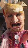 Big Mouth Donald Trump Costume Royalty Free Stock Images