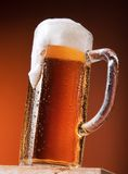 Big mug of beer Stock Photos