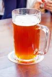 Big mug of beer Stock Images
