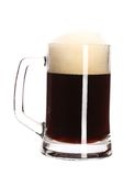 Big mug full with beer. Royalty Free Stock Images