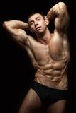 big muscles Στοκ φωτογραφία με δικαίωμα ελεύθερης χρήσης
