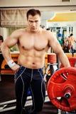 big muscles Στοκ Φωτογραφίες