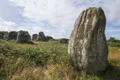 Big neolitic megaliths Stock Photography