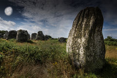 Big neolitic megaliths Royalty Free Stock Image