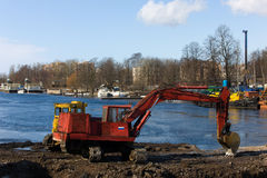Big Nevka Royalty Free Stock Image