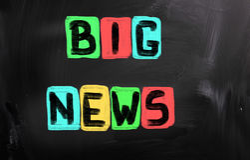 Big News Concept Stock Image