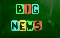 Big News Concept Stock Photo