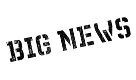 Big News rubber stamp Royalty Free Stock Images