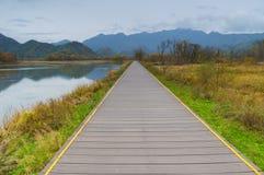 Big Nine Lakes of Hubei Shennongjia Forest stock photos