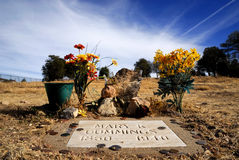 Big Nose Kate grave site Royalty Free Stock Image