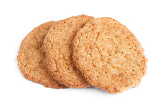 Big oatmeal cookies Stock Image