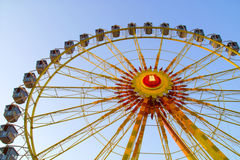 The big observation wheel. With gondolas Stock Photography