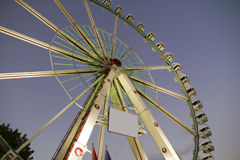 The big observation wheel. With gondolas Royalty Free Stock Photos