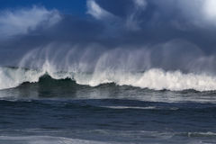 Big ocean wave Stock Photo