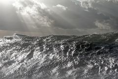 Big ocean wave Royalty Free Stock Images