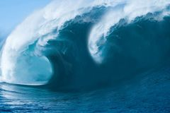 Big Ocean Wave. Close up royalty free stock photos
