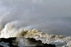 Big Ocean wave Stock Photography