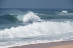 Big ocean waves Stock Images