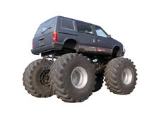 Big off road car isolated Stock Images