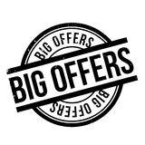 Big Offers rubber stamp Stock Photo
