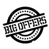 Big Offers rubber stamp Stock Image