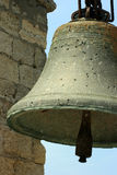 Big old bell in Crimea Stock Photography