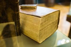 The big old book Stock Photography