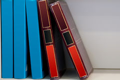 Big old books Stock Images