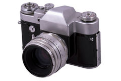Big old camera Royalty Free Stock Image